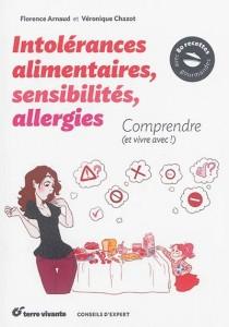 """Livre """"Intolérances alimentaires, sensibilités, allergies comprendre (et vivre avec !)"""""""