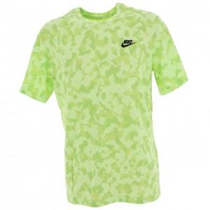 Club tshirt imprime  lime