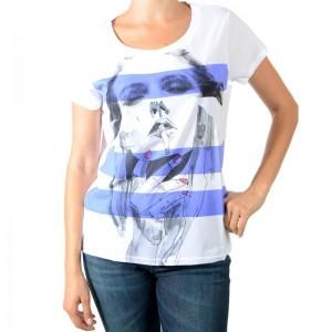 Tee Shirt Eleven Paris Fismok W Blanc