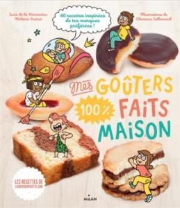 """Livre """"Mes goûters 100 % faits maison"""""""