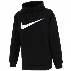 Nike training swoosh sweat h  noir