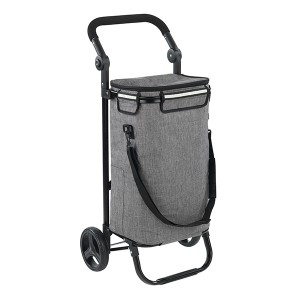 Chariot de courses Thermo & comfort sac isotherme 38 L