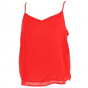 Moon red top l