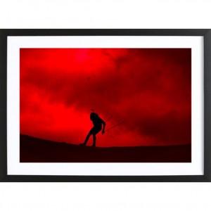 """Poster """"Ciel rouge"""""""