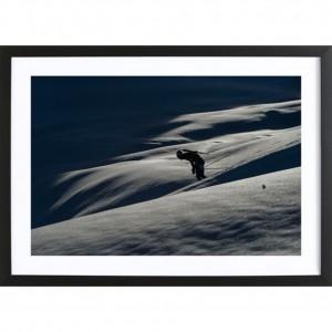 """Poster """"Seul dans la montagne"""""""