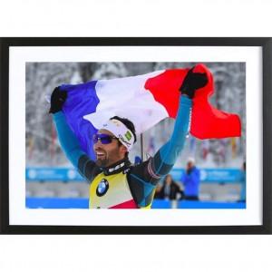 """Poster papier photo """"Victoire et fierté"""""""
