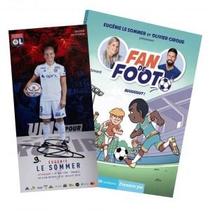 """Livre Fan de Foot Tome 4 """"Buuuuuut !"""" + Carte Dédicacée"""