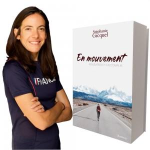 """Book Stéphanie Gicquel """"En mouvement"""" - Autographed version"""