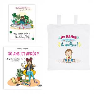 """Pack exclusif livre """"30 ans, et après ?"""" + tote bag """"Ma maman c'est la meilleure"""" + carte dédicacée OFFERTE"""