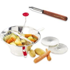 Moulin à fruits et à légumes pro en inox et éplucheur OFFERT Guillouard