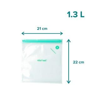 Set de 10 sacs sous vide S 1,3 L STOR'EAT Mastrad