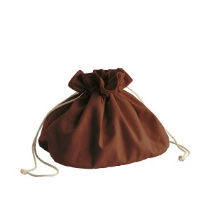 Corbeille sac à pain en coton bio Pebbly