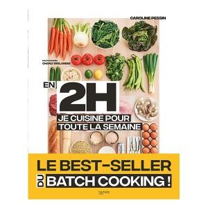 Livre En 2 h je cuisine pour toute la semaine Hachette pratique