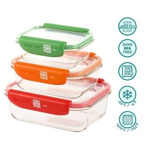 Set de 3 boites connectées STOR'EAT Mastrad