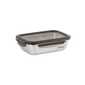 Boîte de conservation rectangulaire en inox 1100 ml Cuitisan