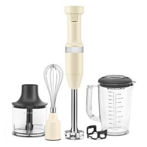 Mixeur plongeant 5 vitesses 180 W crème Kitchenaid 5KHBV83EAC Kitchenaid