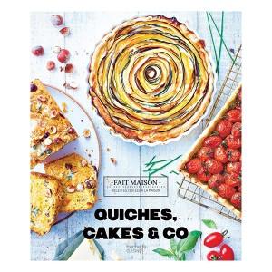 Livre Quiches, cakes & Co Fait Maison Hachette pratique