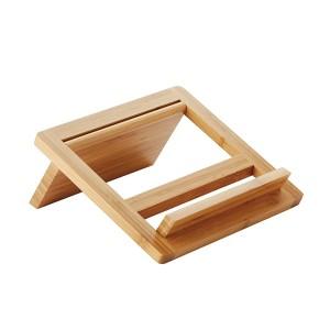 Porte livre ou tablette en bambou Point Virgule