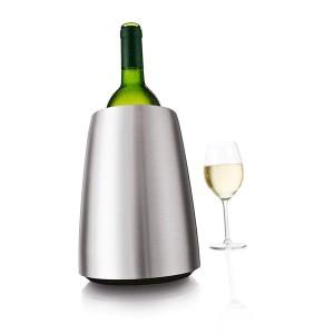 Seau refroidisseur à vin en acier brossé Vacu vin