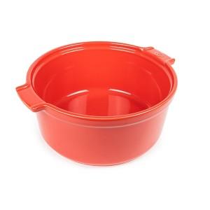 Moule à soufflé rouge 22 cm Peugeot