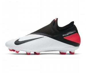 Chaussures de football Nike Phantom Vision II Academy DF MG Blanc/Noir
