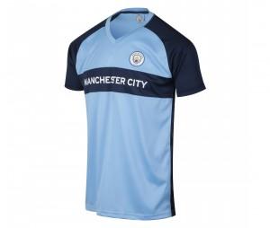 Maillot Manchester City Fan Bleu