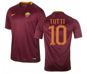 Maillot AS Roma Domicile Totti 2016/17 Enfant