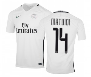 Maillot PSG Third Matuidi 2016/17
