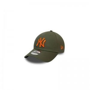 Casquette MLB New York Yankees New Era League essential 9Forty Vert Kaki