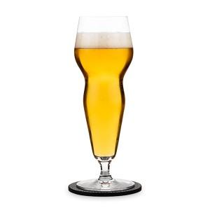 Set de 2 verres à bière avec dessous de verre Fraîcheur et Effervescence Peugeot