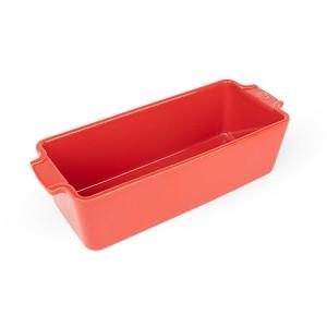 Moule à cake en céramique 31 cm Appolia rouge Peugeot