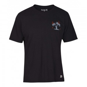 T-shirt Hurley Bail Tee Ss Anthracite