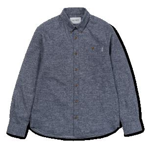 Chemise Carhartt L/s Cram Shirt Dark Navy