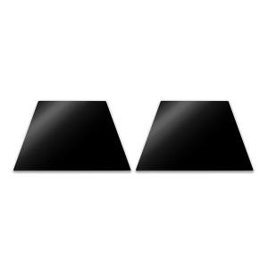 Set de 2 planches de protection pour plaques à induction Pebbly