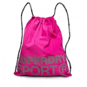 Backpack Superdry Sport Drawstring Bag Super Pink